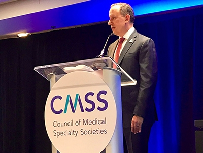 Jerry Penso at Council of Medical Specialty Societies