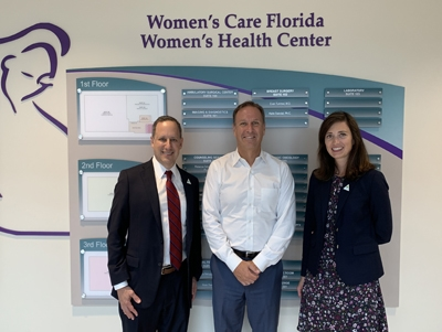 Jerry Penso at Womens Health Florida
